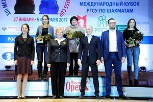 Winners and Medalists of the RSSU Chess Cup, 2017 Moscow Open Received Deserved Awards